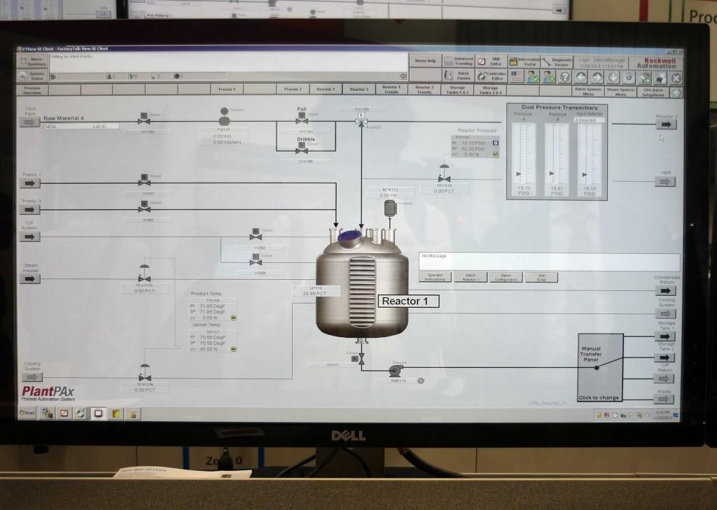 Steuerung Reaktor