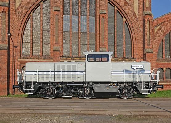 Die Hybridlokomotive H3 von Alstom