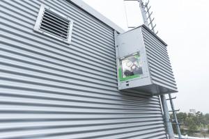 """Sender """"Alice"""" auf dem Dach des Max-Planck-Instutus © Axel Griesch für MPG"""
