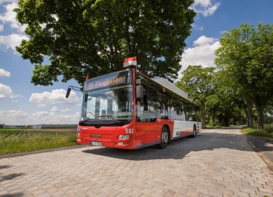 Linienbus der VAG Nürnberg Quelle: © VAG – Peter Dörfel
