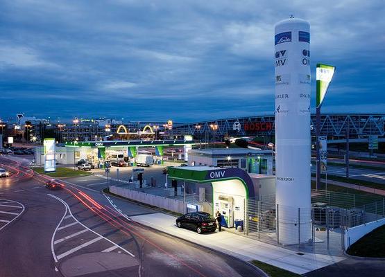 Wasserstofftankstelle der OMV Bildquelle: © OMV