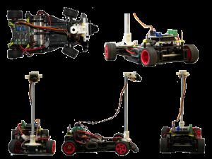 Ein Dummy, ausgestattet mit einem Bildverarbeitungssystem, der in der Forschung eingesetzt wird. (Quelle: TH Nürnberg)