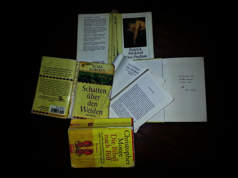 Bücher mit sympathischen Gebrauchsspuren