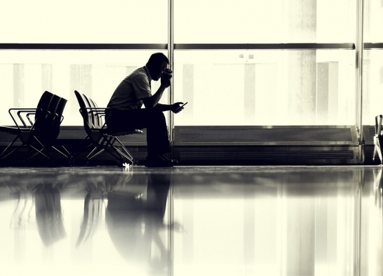 Streamen am Flughafen