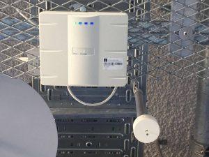 Access Point für das Eduroam-Signal im Mathematiklabor im 4. Stock der TH-Nürnberg. (Quelle: Denise Heller)