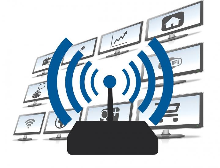 WLAN Signale kostenlos und unbegrenzt zugänglich für alle Studenten. (Quelle: Pixabay, lizensfreie Bilder)