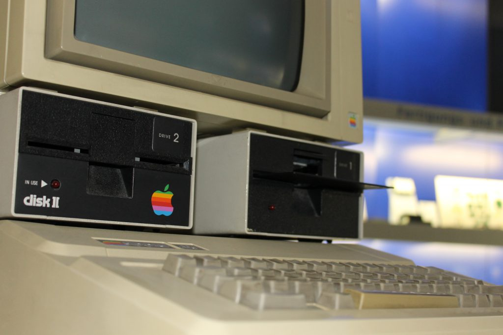 Apple 2e (Foto: Denise Heller).