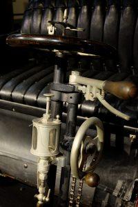 Bedienung des Maurer-Union Doktorwagens mit Reibrad-Getriebe