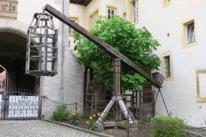 Mittelalterliches Kriminalmuseum Bäckertaufe Rothenburg ob der Tauber
