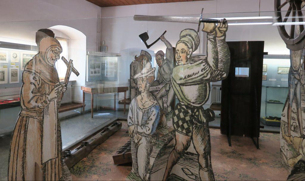 Mittelalterliches Kriminalmuseum Rothenburg ob der Tauber Scharfrichter-Szene