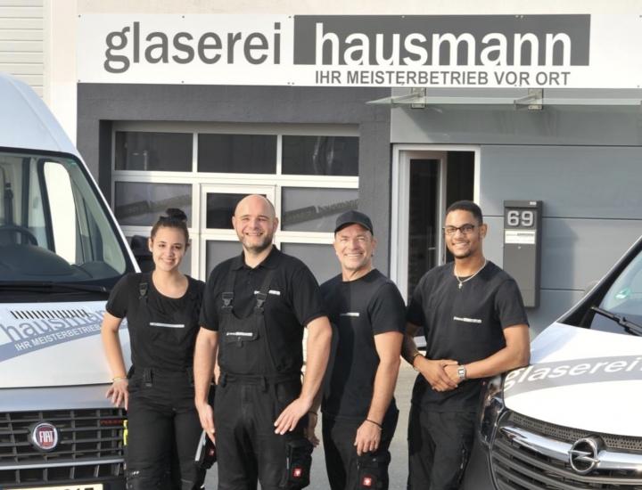 Mitarbeiter der Firma Hausmann
